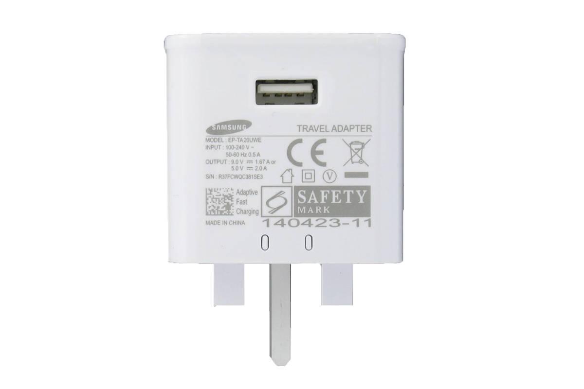 Genuine charger Samsung EP-TA20UWE 5V 2A Fast Charging