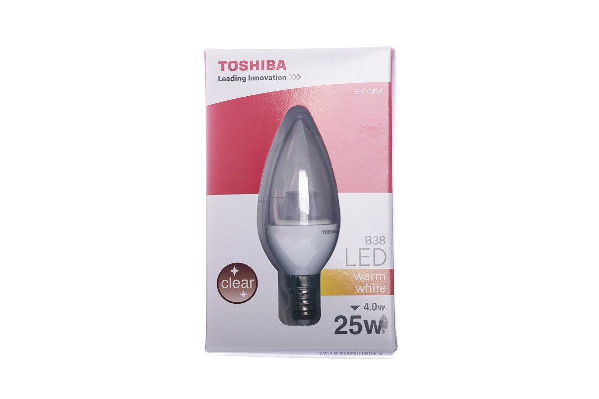 LED Bulb Toshiba LDC002D2760-EUC B38 E14