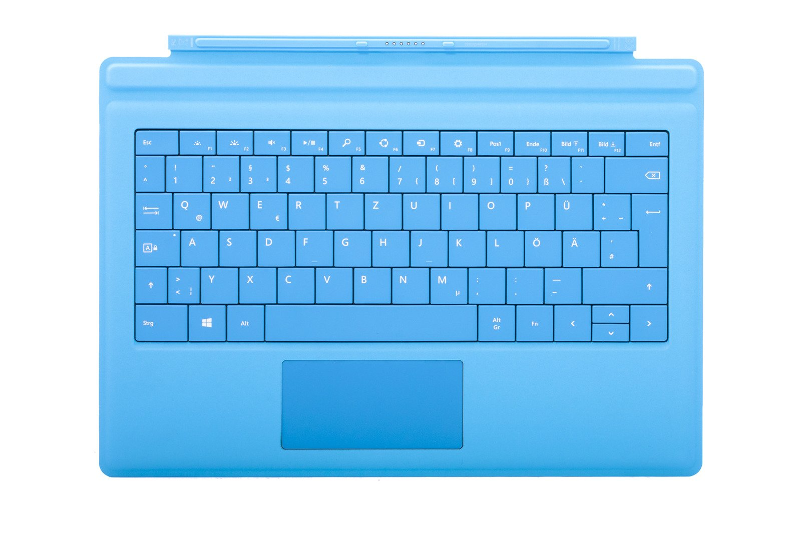 microsoft surface pro 3 type cover (cyan)