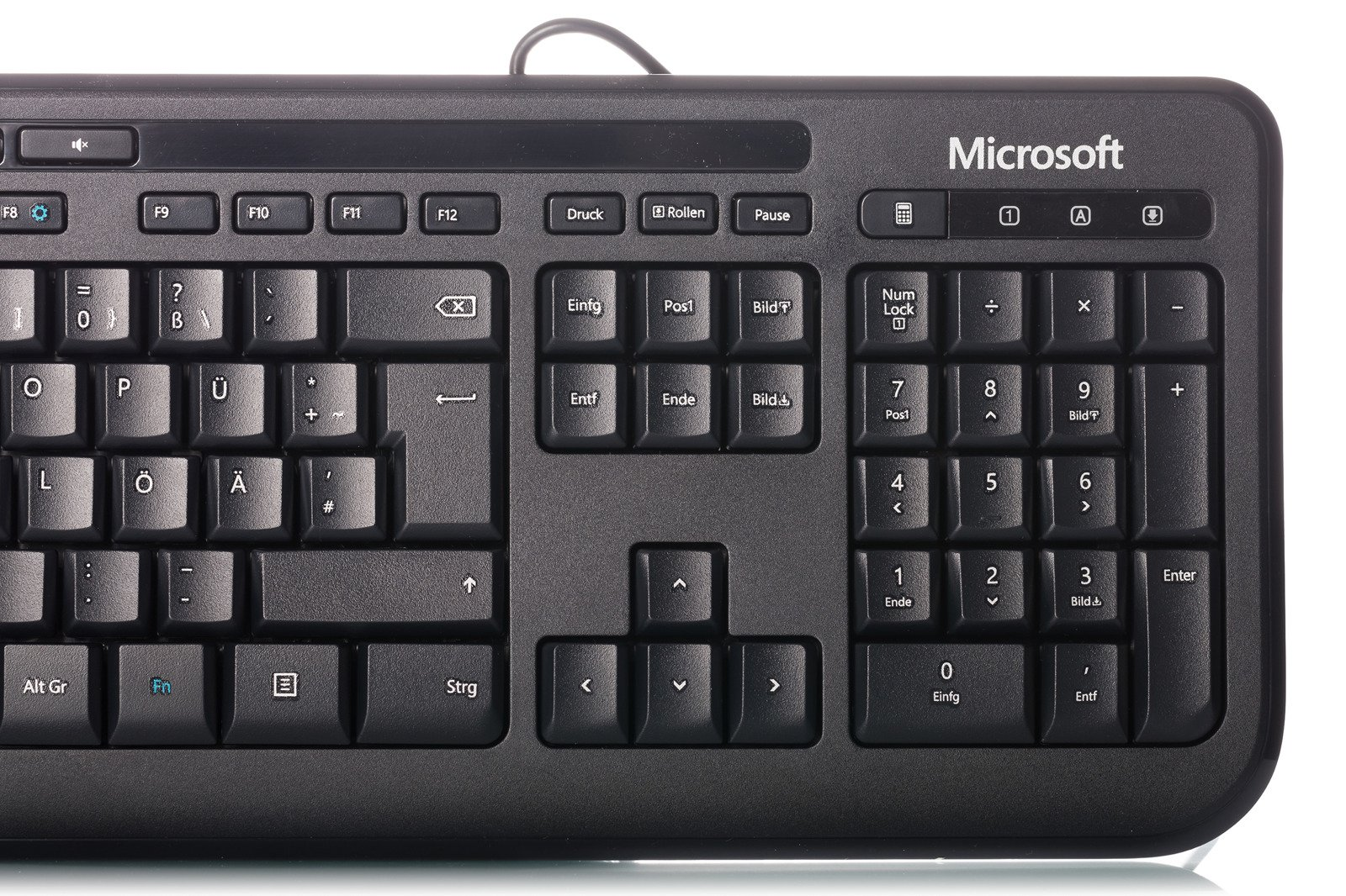 how to use german keyboard ms