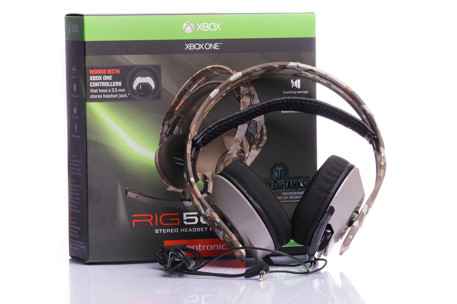 Plantronics RIG 500HX Camo Stereo headset for Xbox One | TV, Audio ...