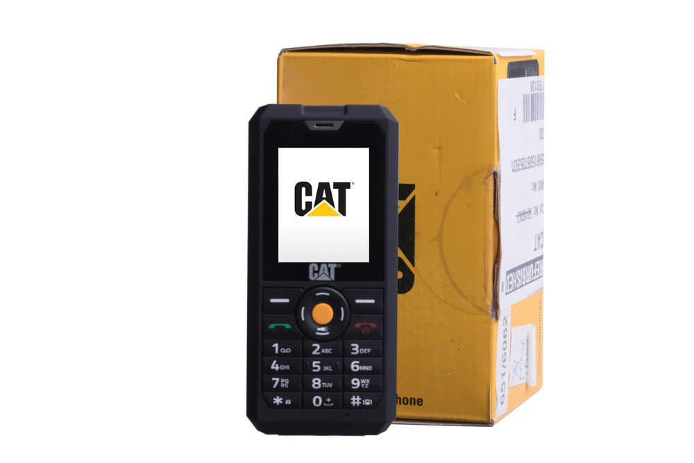 CAT B30 Dual-SIM Outdoor-Handy 2 Zoll 2 Megapixel IP67 3G