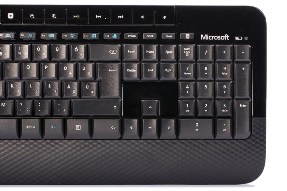 Keyboard and Mouse Set Microsoft Wireless 2000 Desktop (Hungarian) M7J-00014