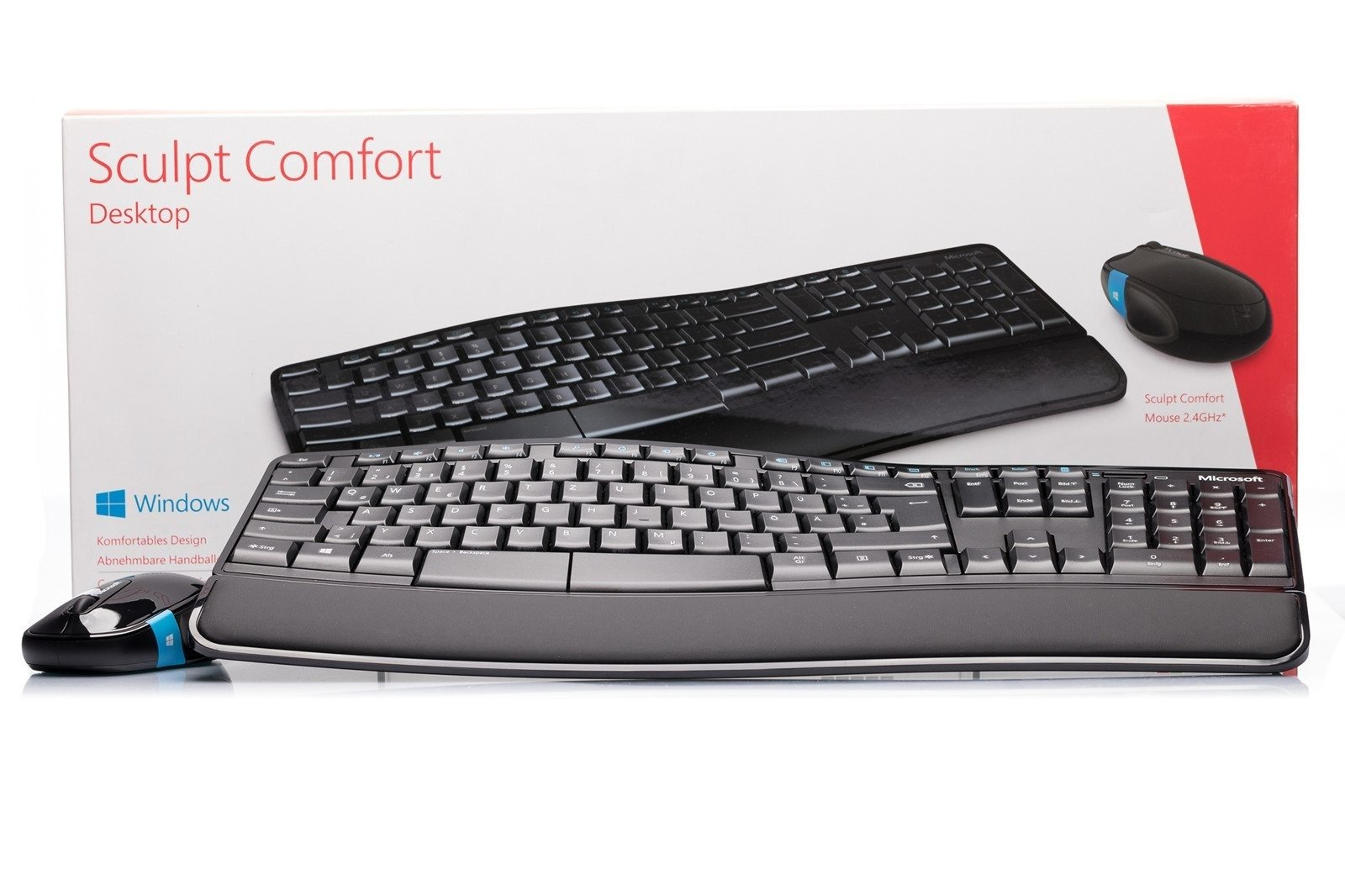 Microsoft Sculpt Comfort Desktop (German)