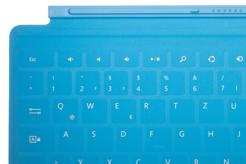 Keyboard Surface Touch Cover 1 Blue Limited Edition Skull Grade A (German)