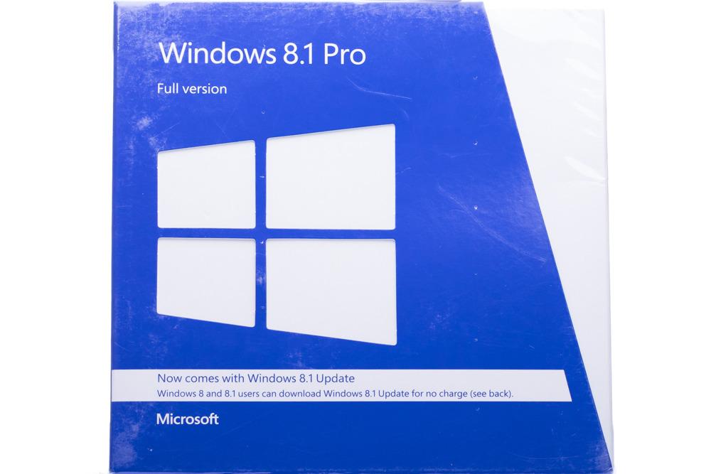 Windows Professional 8.1 32bit/64bit Eng Intl Non-Eu/Efta DVD