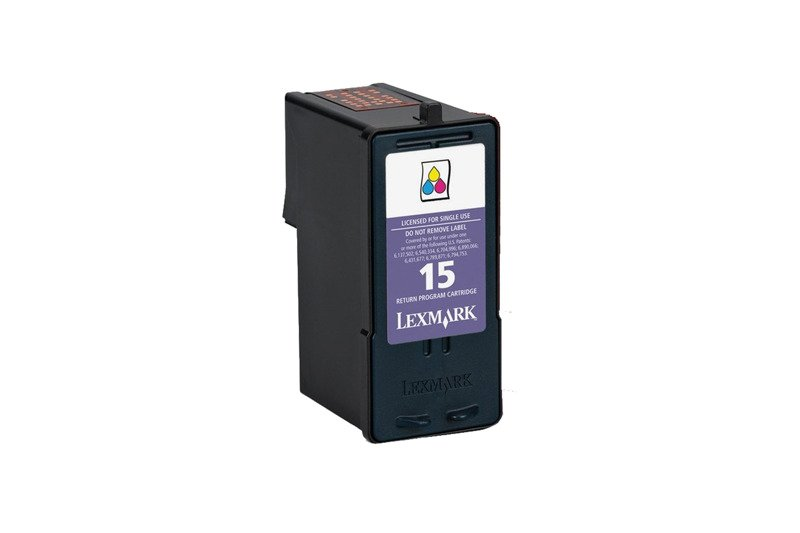 Genuine Ink Cartridge Lexmark 15 Color