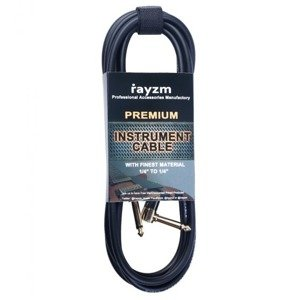 """RAYZM Instrument cable 5m noiseless Guitar / Bass Cable 1/4"""""""
