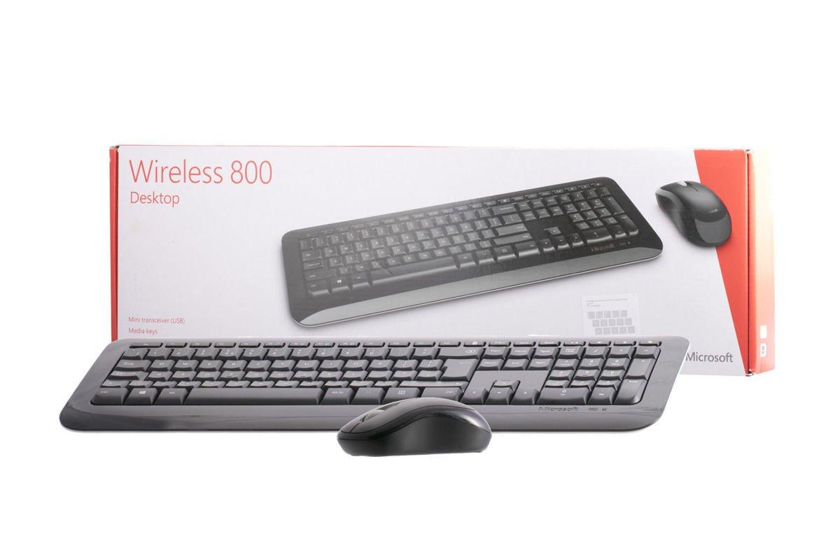 Klawiatura i mysz Microsoft Wireless 800 Desktop (UK105)