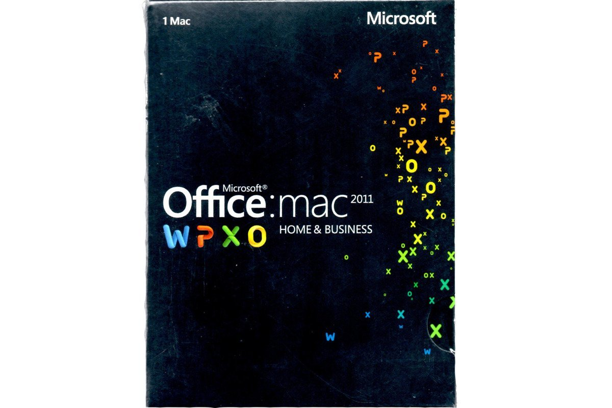 Microsoft Office 2011 Mac Home & Business (W6F-00190) BOX EUROZONE Medialess IT