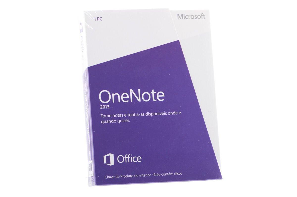 Microsoft OneNote 2013 S26-05099 Portuguese Medialess Eurozone