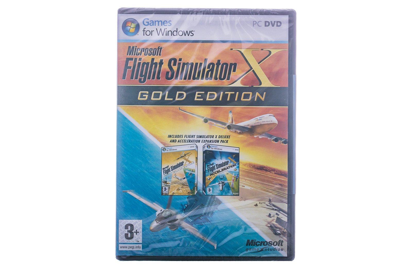Microsoft Flight Simulator X Gold Edition (ENG)
