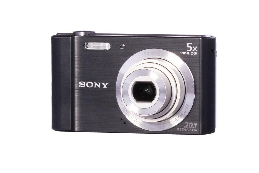 Aparat Cyfrowy Sony Cyber-shot DSC-W800 20.1Mpx Zoom 5x Czarny Grade B