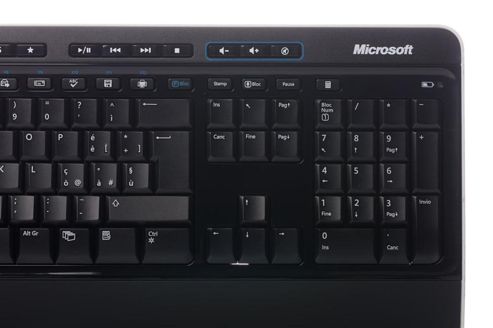 Zestaw Microsoft Wireless 3000 Desktop (Włoska) MFC-00015