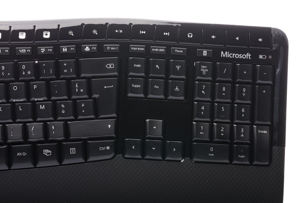 Klawiatura Microsoft Wireless Comfort Desktop 5000 (Francuska)