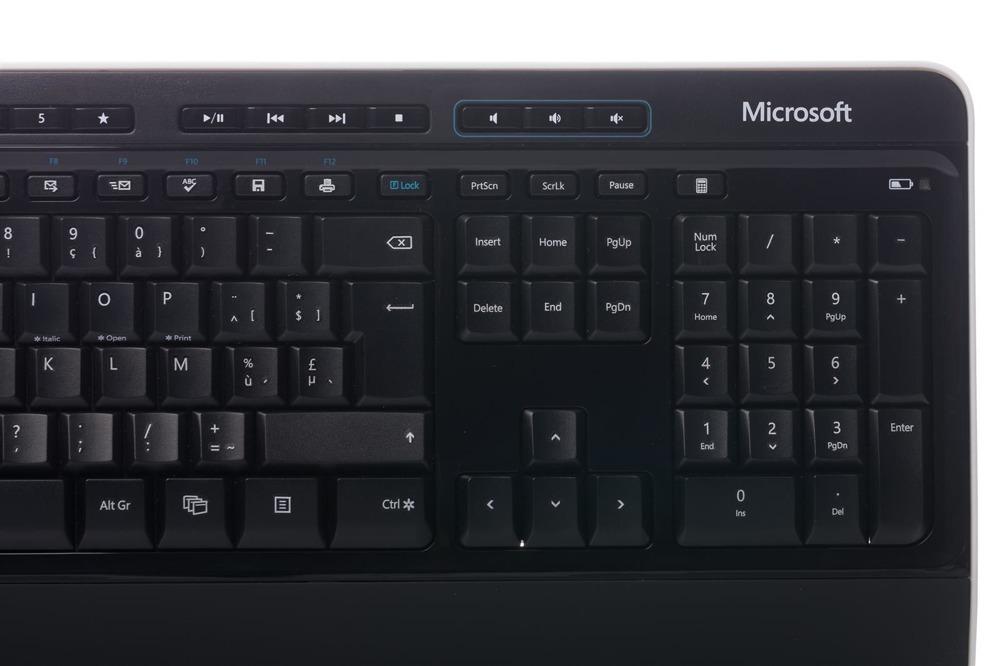 Klawiatura Microsoft Wireless Desktop 3000 (Belgijska)