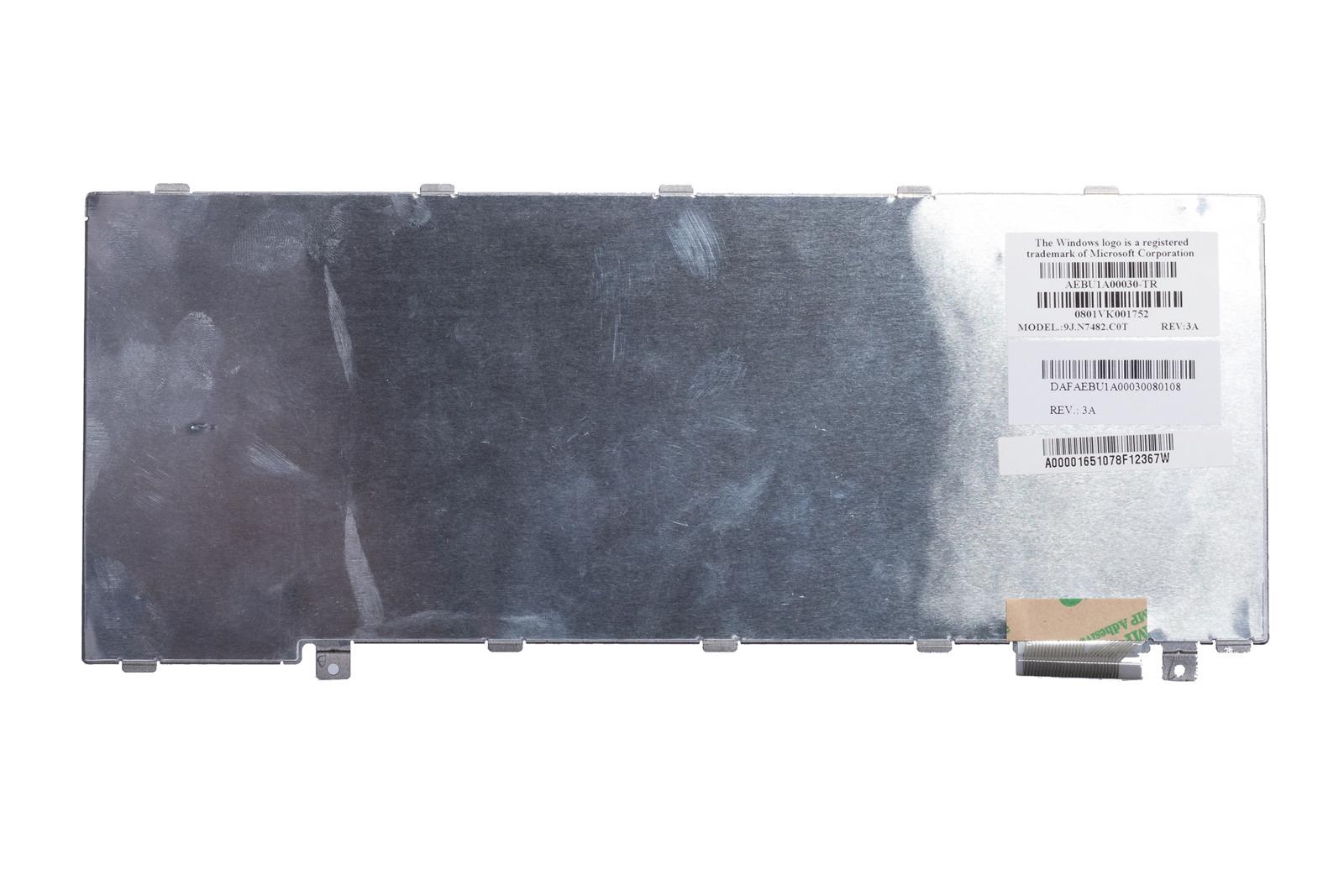 Klawiatura Toshiba 9J.N7482.C0T (Turecka)