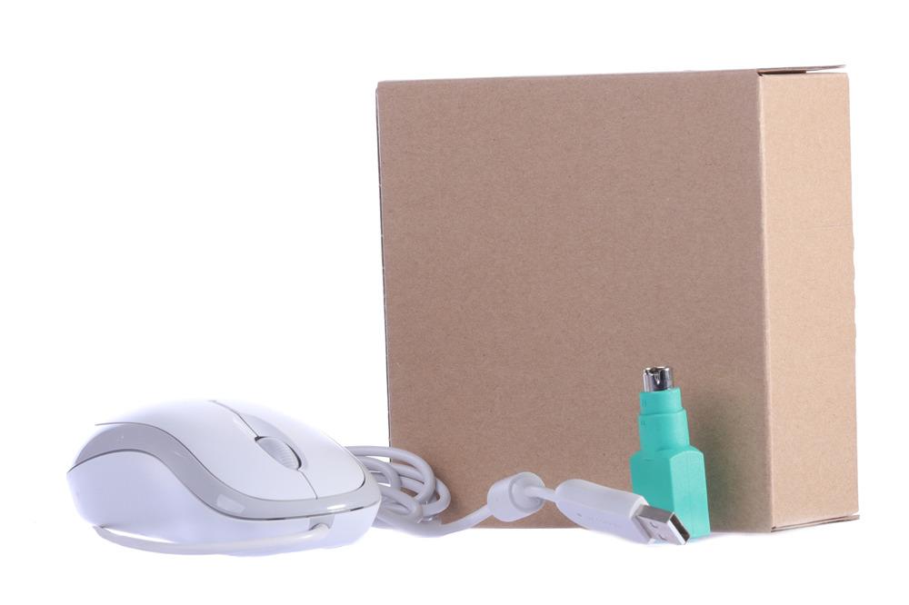 Mysz Microsoft Basic Optical Mouse (biała,box)