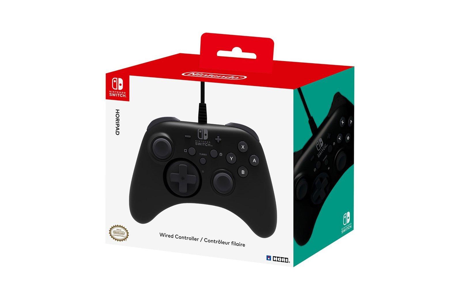 Pad przewodowy Hori Nintendo Switch Horipad NSW-001U Czarny