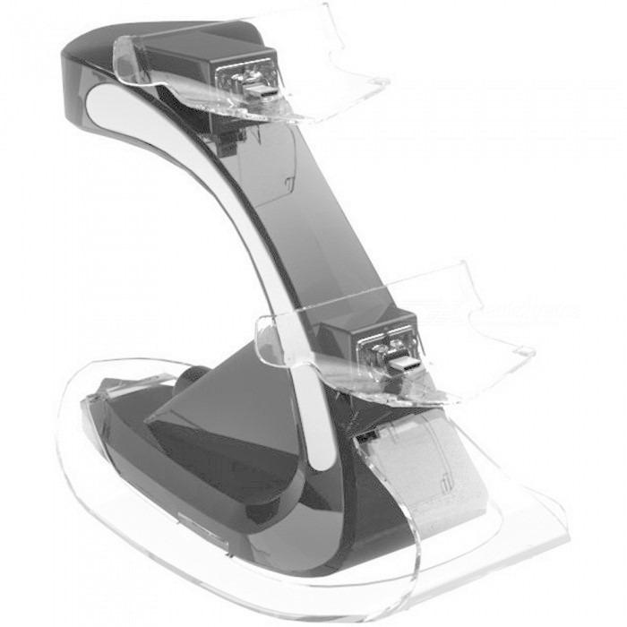 Podwójna ładowarka 2 porty HUB dla kontrolera PS4